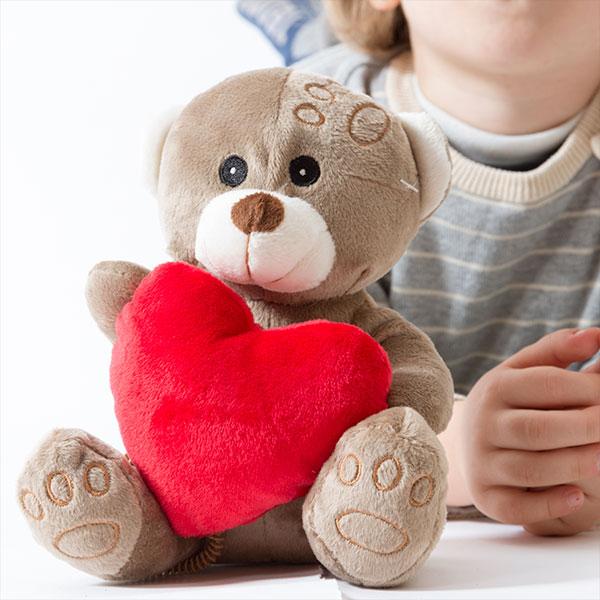 Plišasti Medvedek s Srcem