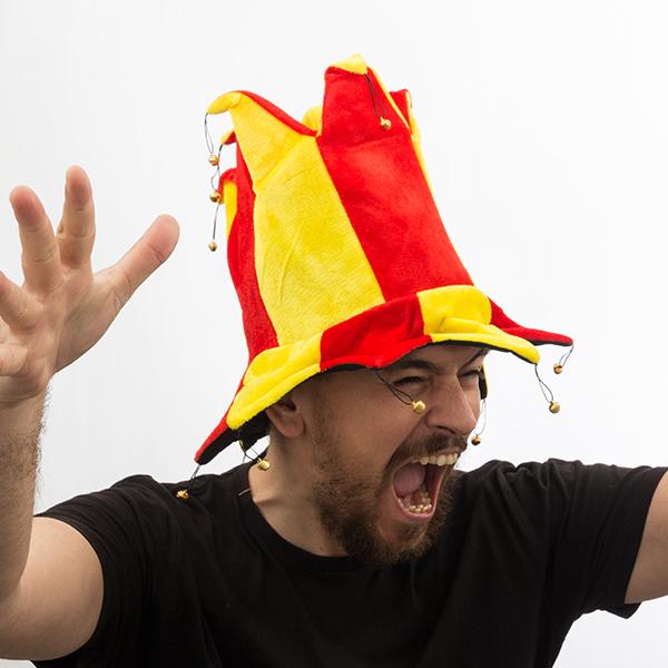 Španski Klobuk Jester s 14 Rožički