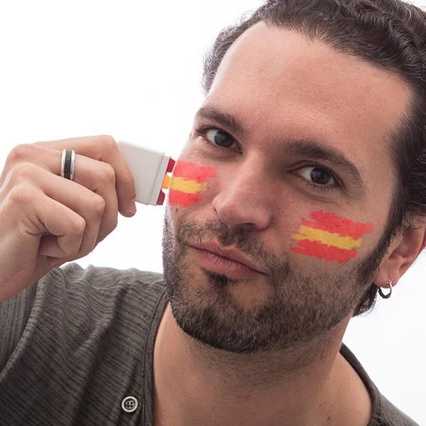 Španska Zastava Barve za Obraz