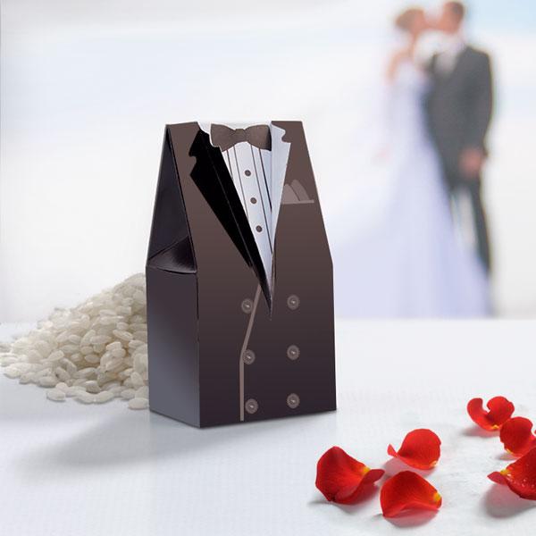 Darilne Poročne Škatlice (paket 10 kosov) - Ženin