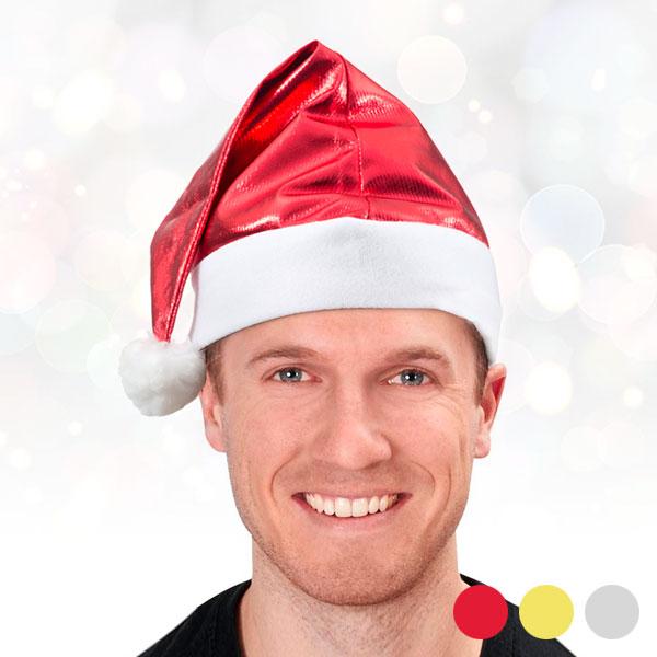 Cappello di Babbo Natale Metallizzato