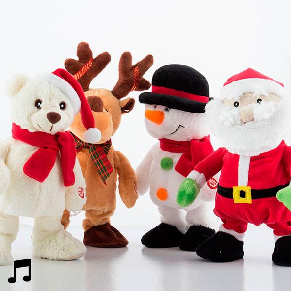 Muñeco de Navidad Cantante y Bailarín Christmas Planet