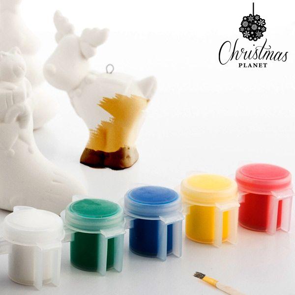 Personaggi di Natale da pitturare (6 pezzi)