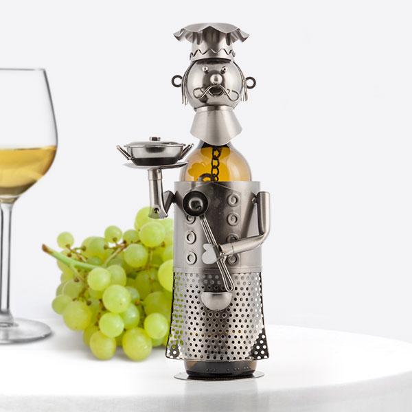 Botellero Metálico Chef by Homania
