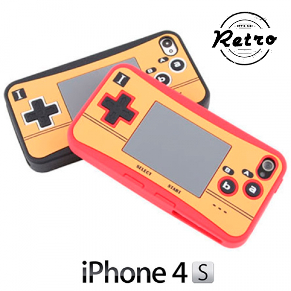 Silikonski ovitek za iPhone Videoigre Retro