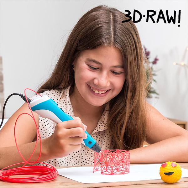 Čarobni Svinčnik 3D-RAW