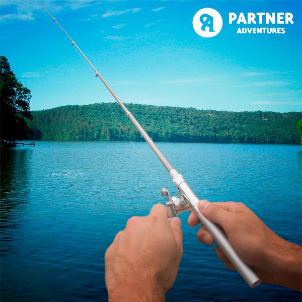Ribiška Palica v Obliki Kemičnega Svinčnika Partner Adventures