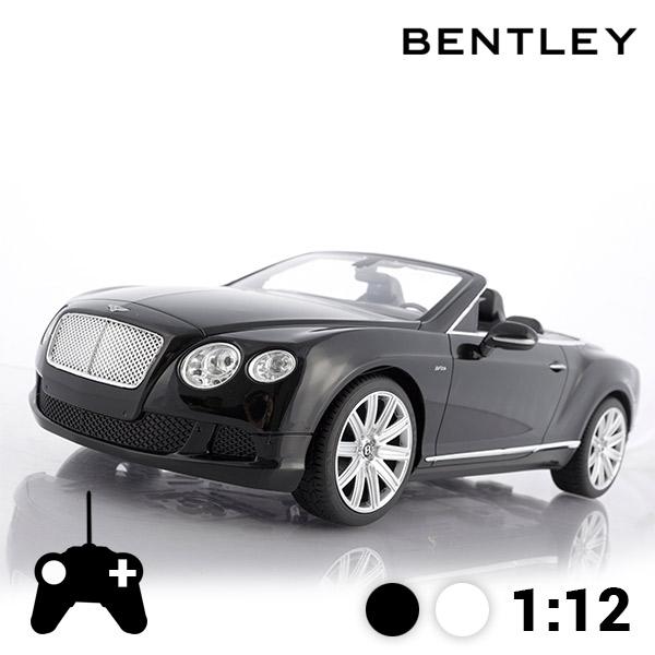 Avtomobil na Daljinsko Vodenje Bentley Continental GT Kabriolet - Črna