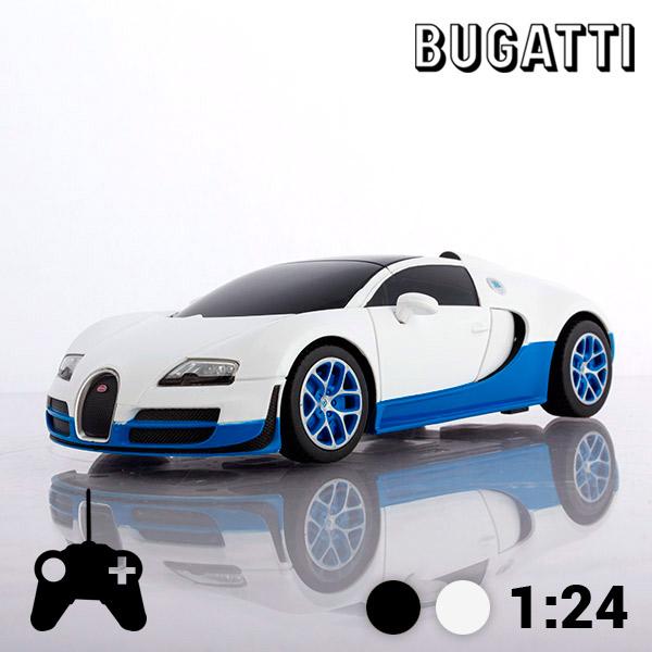 Avtomobil na Daljinsko Vodenje Bugatti Veyron 16.4 Grand Sport Vitesse - Bela