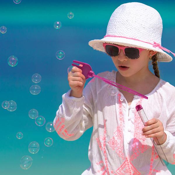 Igra z Mehurčki za Plažo
