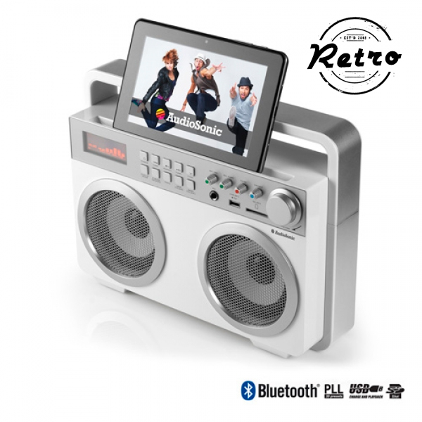 Retro Radio MP3 Bluetooth AudioSonic RD1559