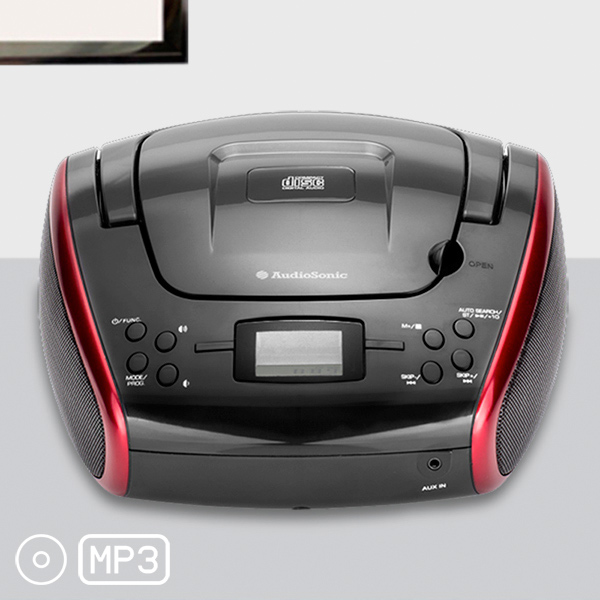 Prenosni Radio Stereo MP3 CD AudioSonic CD1597