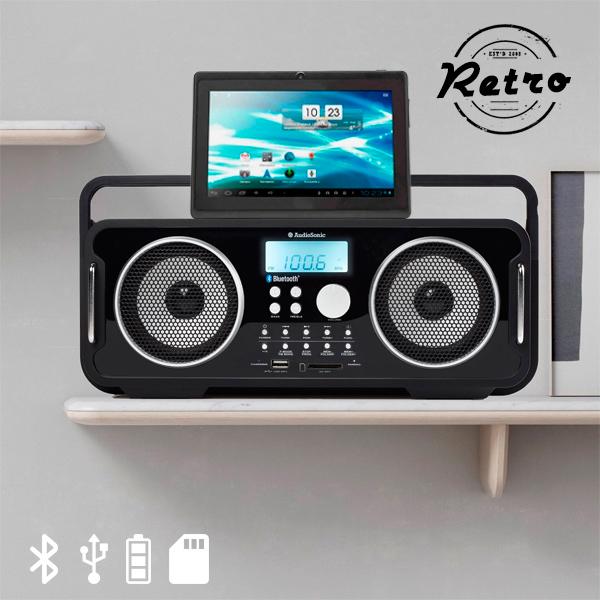 Akumulatorski Bluetooth Retro Radio AudioSonic RD1556