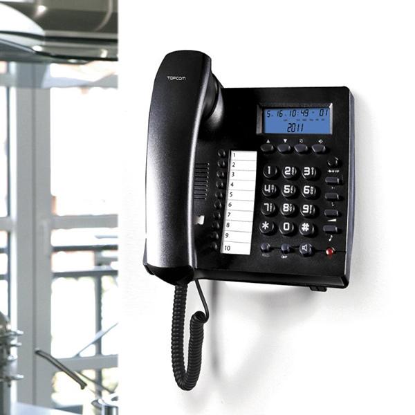 Prostoročni Stacionarni Telefon TopCom TE6601