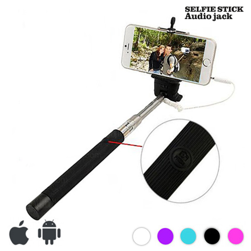 Palica za Selfie s Kablom - Vijoličasta