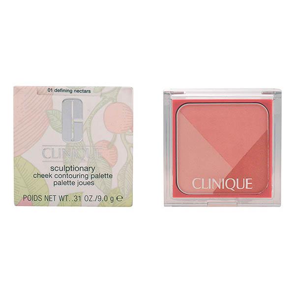 Clinique - SCULPTIONARY cheek palette 01-defining nectars 9 gr