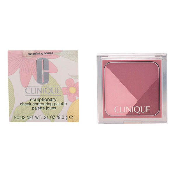 Clinique - SCULPTIONARY cheek palette 02-defining berries 9 gr