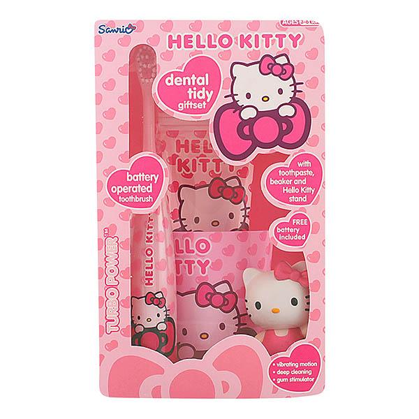 Hello Kitty - HELLO KITTY DENTAL TIDY LOTE 4 pz