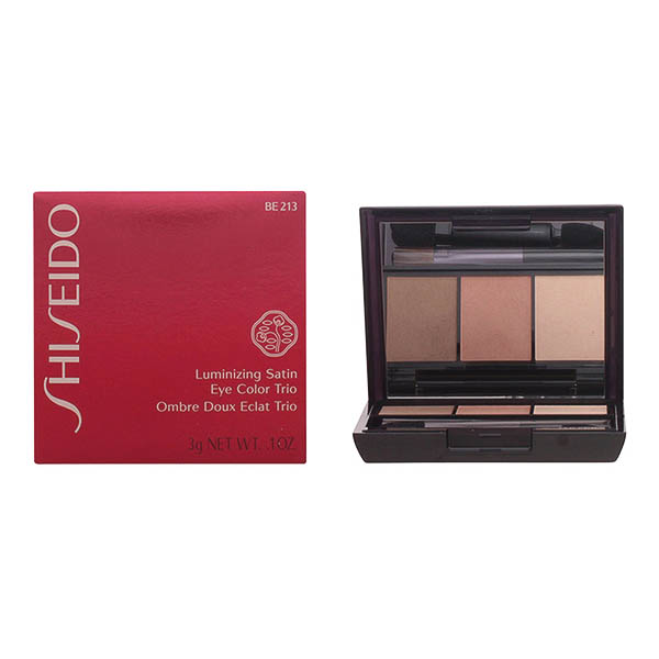 Shiseido - LUMINIZING SATIN eye color trio BE213-nude 3 gr