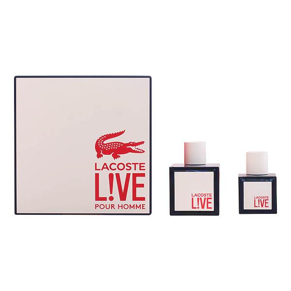 Lacoste - LACOSTE LIVE LOTE 2 pz