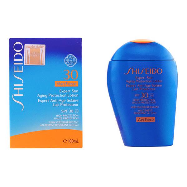 Shiseido - EXPERT SUN AGING lotion wet force 100 ml