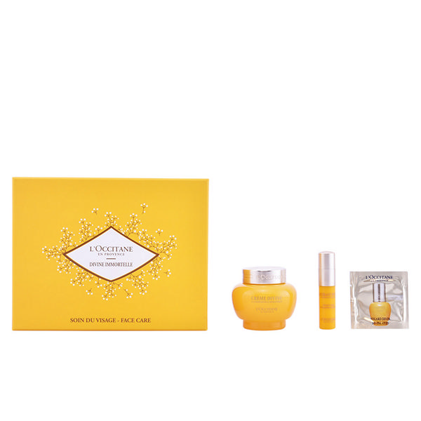 L´occitane - DIVINE IMMORTELLE SET 3 Pcs.