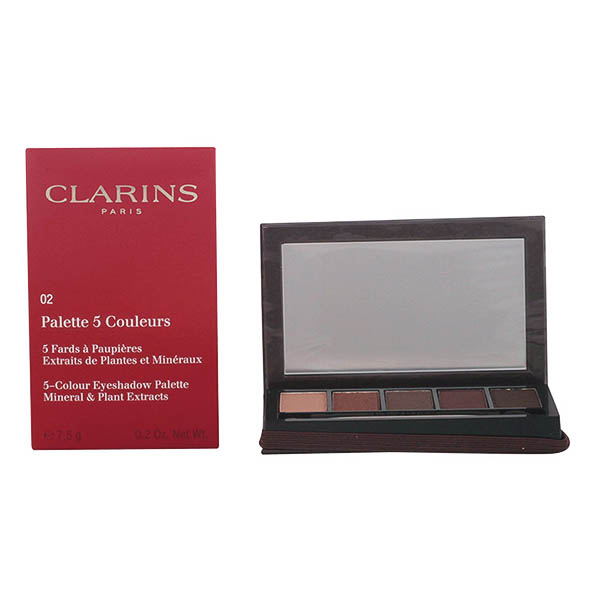 Clarins - PALETTE YEUX 5 couleurs 02-pretty night 7,5 gr