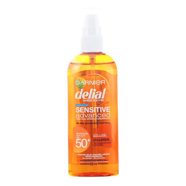 Delial - DELIAL sensitive aceite protector SPF50+ 150 ml