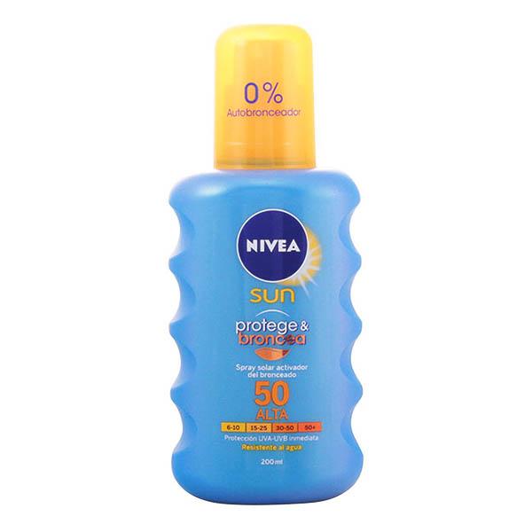 Nivea - NIVEA SUN PROTEGE&BRONCEA spray SPF50 200 ml