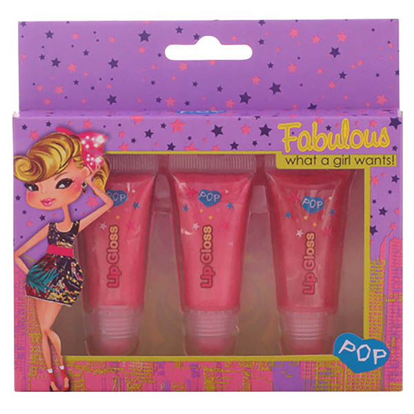 Pop - POP LIP GLOSS SENSATION SET 3 pz