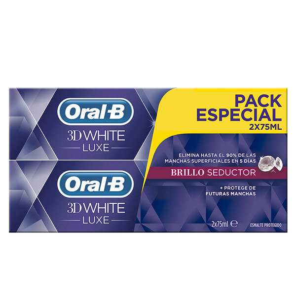 Oral-b - 3D WHITE LUXE SET 2 Pcs.