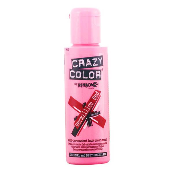Crazy Color - CRAZY COLOR 40-vermillión red
