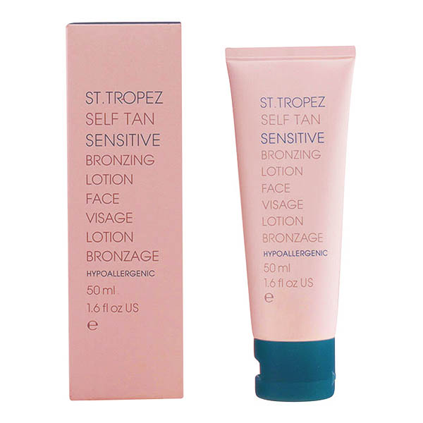 St.tropez - SELF TAN SENSITIVE BRONZING face lotion 50 ml