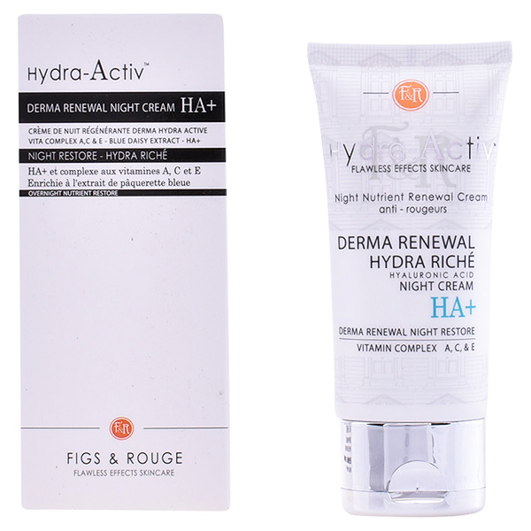 Figs & Rouge - HYDRA-ACTIV derma renewal night cream HA+ 50ml