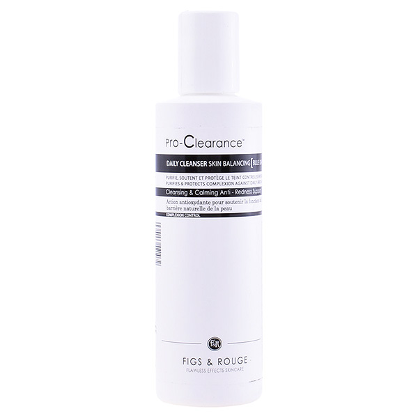 Figs & Rouge - PRO-CLEARANCE skin balancing blue daisy cleanser 180 ml