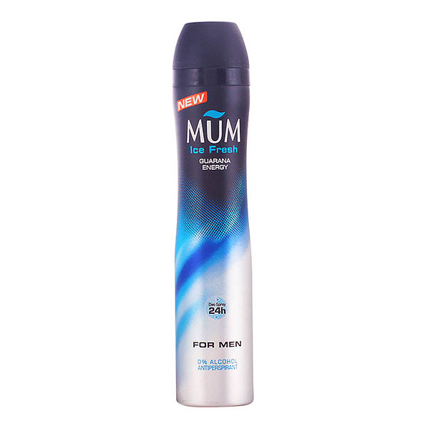 Mum - MUM MEN ICE FRESH guaraná energy deo vaporizador 200 ml
