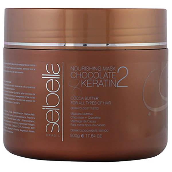 Seibella Queratina - SEIBELLA mask chocolate & keratin 500 ml
