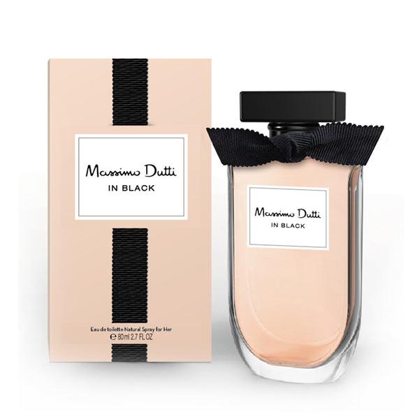 Massimo Dutti - MASSIMO DUTTI IN BLACK HER edt vaporizador 80 ml