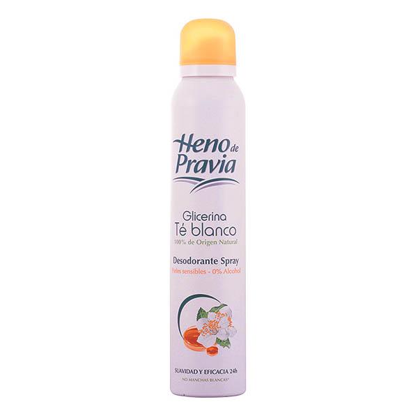 Heno De Pravia - HENO DE PRAVIA GLICERINA&TÉ BLANCO deo vaporizador 200 ml
