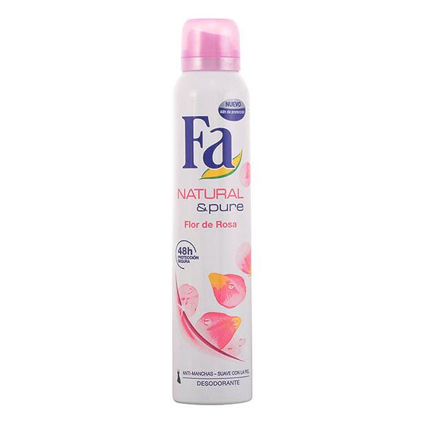 Fa - NATURAL PURE FLOR DE ROSA deo vaporizador 200 ml