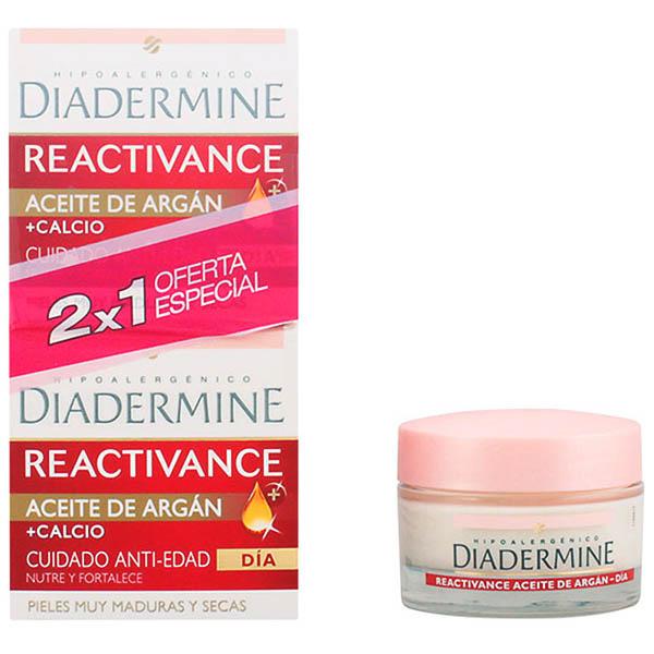 Diadermine - REACTIVANCE ACEITE ARGAN LOTE 2 pz