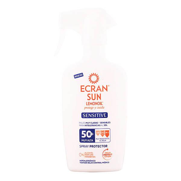 Ecran - ECRAN SUN LEMONOIL SENSITIVE spray protector SPF50+ 300 ml