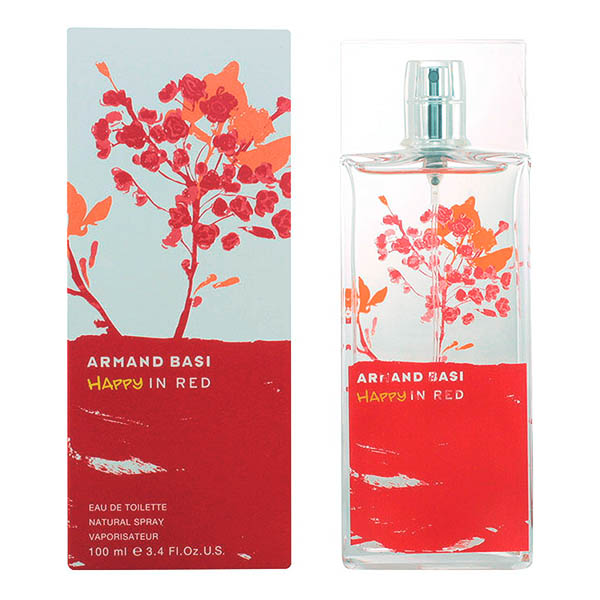 Armand Basi - HAPPY IN RED edt vaporizador 100 ml