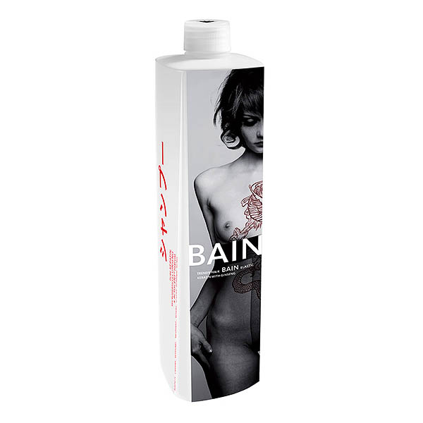 Trendy Hair - BAIN ELASTIC KERATIN with ginseng 1000 ml
