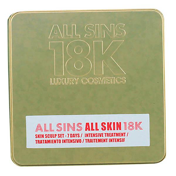 All Sins 18k - ALL SKIN SCULP 7 DAYS INTENSIVE TREATMENT LOTE 2 pz