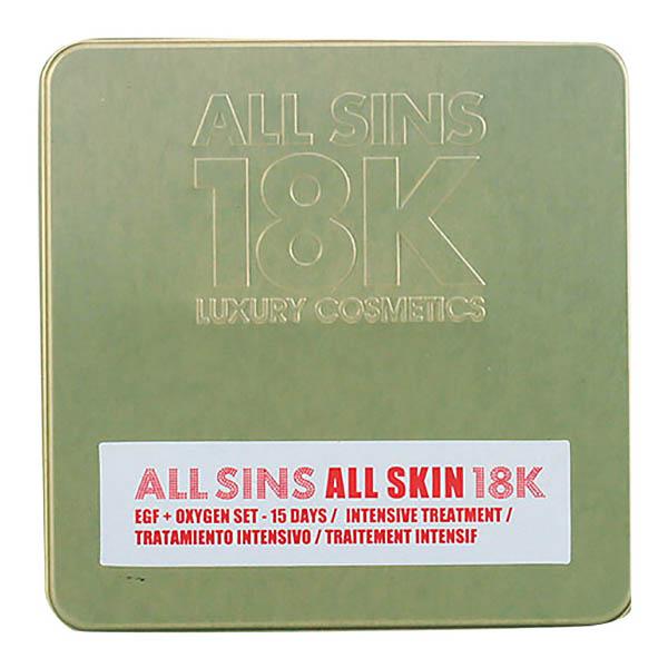 All Sins 18k - ALL SKIN EFG + OXYGEN 15 DAYS INTENSIVE TREATMENT LOTE 2 pz