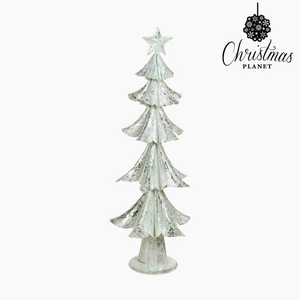 Albero di Natale Ferro Argentato (25 x 25 x 63 cm) by Christmas Planet
