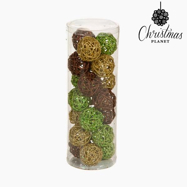 Palle di Natale Caffè Oro Verde (21 pcs) by Christmas Planet