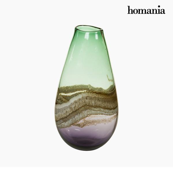 Vaso Geam (19 x 15 x 37 cm) - Pure Crystal Deco Collezione by Homania