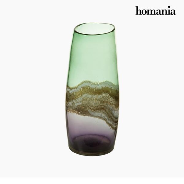 Vaso Geam (17 x 17 x 36 cm) - Pure Crystal Deco Collezione by Homania